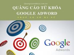 Quảng cáo từ khóa google adword shop áo sơ mi nữ