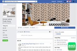 Hỗ trợ báo giá vải dán tường tại GiaVaiDanTuong.com - chia sẻ thông tin qua hệ thống mạng xã hội hỗ trợ bán hàng hiệu quả