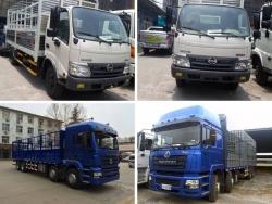 So sánh nên mua xe tải Shacman hay xe tải Hino?
