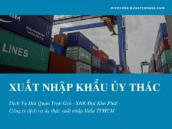 Những điều cần biết về dịch vụ xuất nhập khẩu ủy thác là gì?