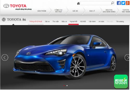 Đánh giá ngoại thất xe Toyota 86 2017: thay đổi mới thu hút người dùng, 121, Minh Thiện, MẠNG XÃ HỘI MUA BÁN, 15/08/2016 09:24:08