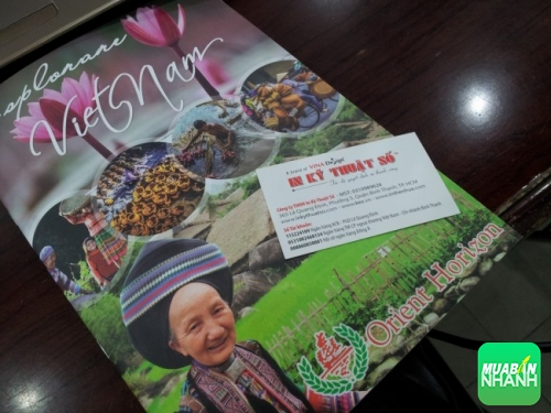 Brochure đẹp, thu hút khách hàng, mang lại hiệu quả cao trong quảng cáo