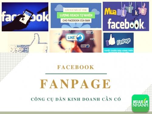 Fanpage Facebook trong kinh doanh - công cụ tuyệt vời để kết nối khách hàng, 131, Huyền Nguyễn, MẠNG XÃ HỘI MUA BÁN, 10/04/2017 10:32:27