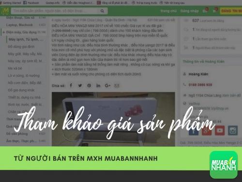 Báo Thanh Niên tham khảo giá sản phẩm từ người bán trên Mxh MuaBanNhanh, 136, Huyền Nguyễn, MẠNG XÃ HỘI MUA BÁN, 03/08/2017 17:01:02